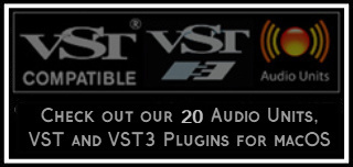 AU Audio Units (.component) + VST (.vst) for Logic Pro, GarageBand, Final Cut Pro X, MainStage, Cubase, Ardour, Ableton Live, REAPER, Studio One Professional and Digital Performer, among others. Also available in Also: Logic EXS24 (.exs) or KONTAKT (.nki)