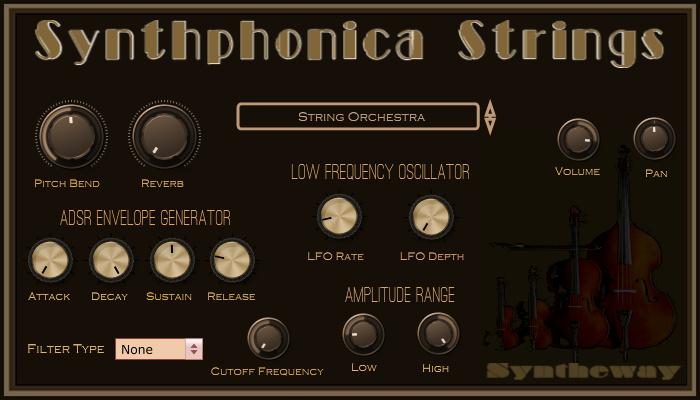 synthphonica strings vst vst3 audio unit plugins string ensembles solo violin viola cello. Black Bedroom Furniture Sets. Home Design Ideas